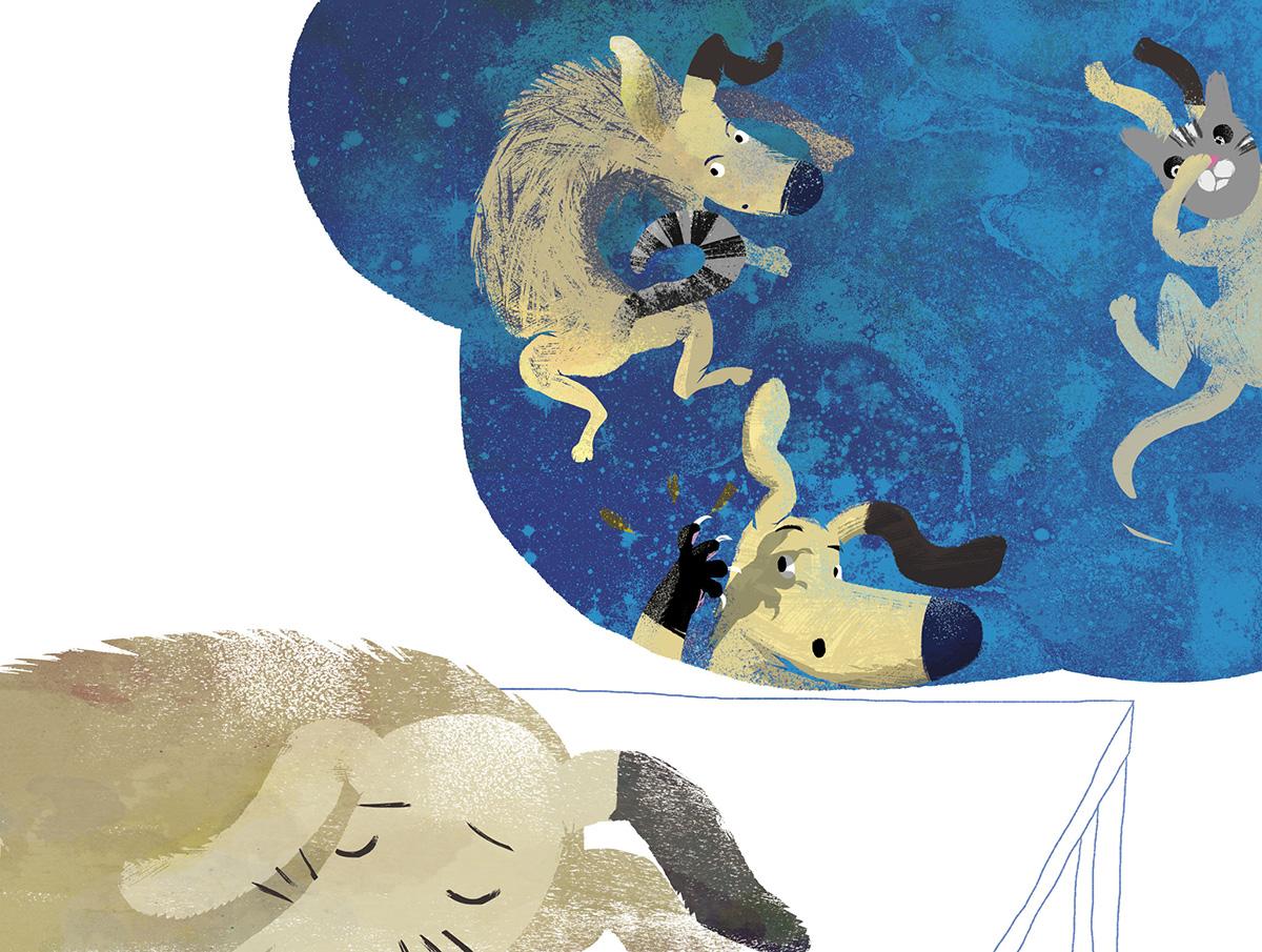 Psierociniec ilustracja Marta Krzywicka